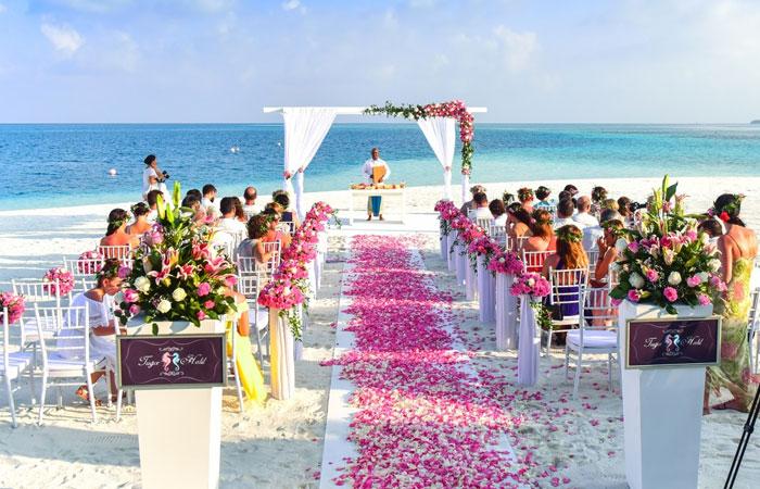 Thể hiện sự đẳng cấp, sang trọng khi tổ chức đám cưới tại resort
